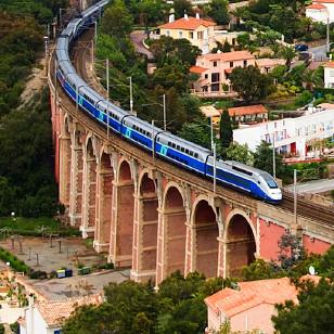 Trein naar Barcelona